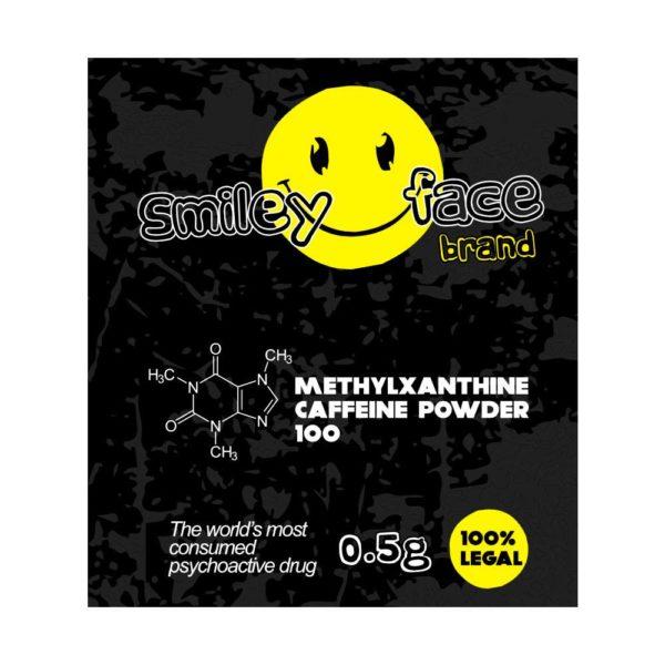 SMILE FACE - kofeinový prášek