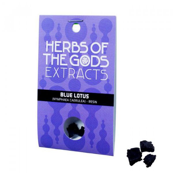 Modrý leknín (Blue lotus) - pryskyřice - extrakt 20x, - 1 g