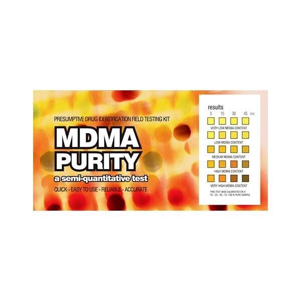 EZ Test MDMA Purity 1ks