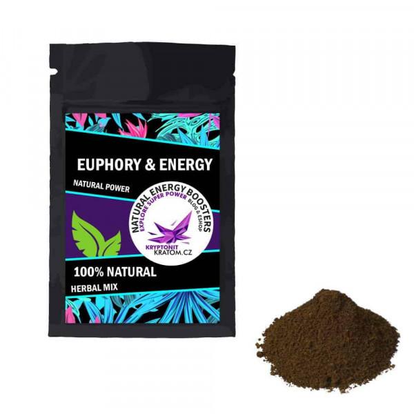Euphory & Energy - bylinný mix - KRYPTONIT-KRATOM.CZ™
