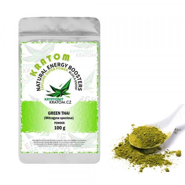 Kratom Green Thai - ZELENÝ KRATOM