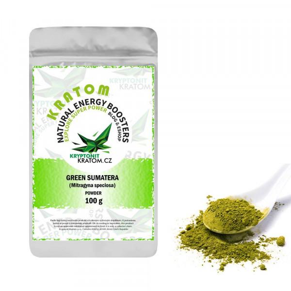 Kratom Green Sumatera - ZELENÝ KRATOM