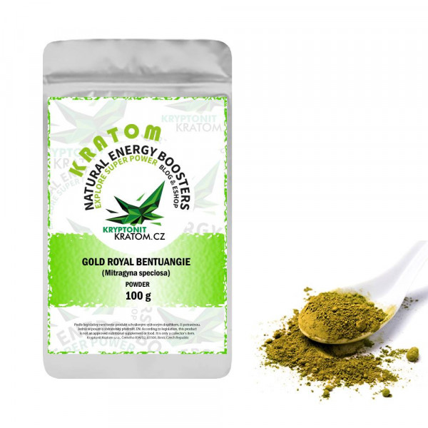 Kratom Gold Royal Bentuangie