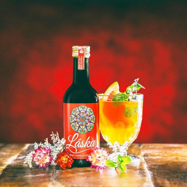 Energetický a Stimulační bylinný nápoj Láska - 250 ml
