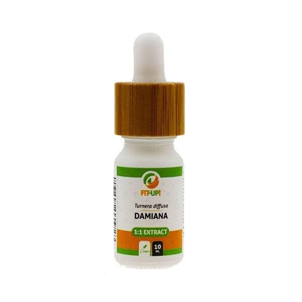 Damiana (Turnera diffusa) 1:1 extrakt - tinktura - 10 ml
