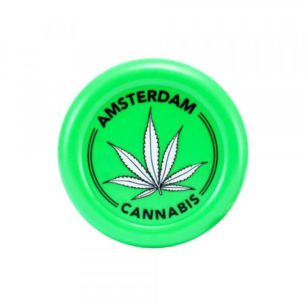 Plastová drtička AMSTERDAM LEAF - zelená