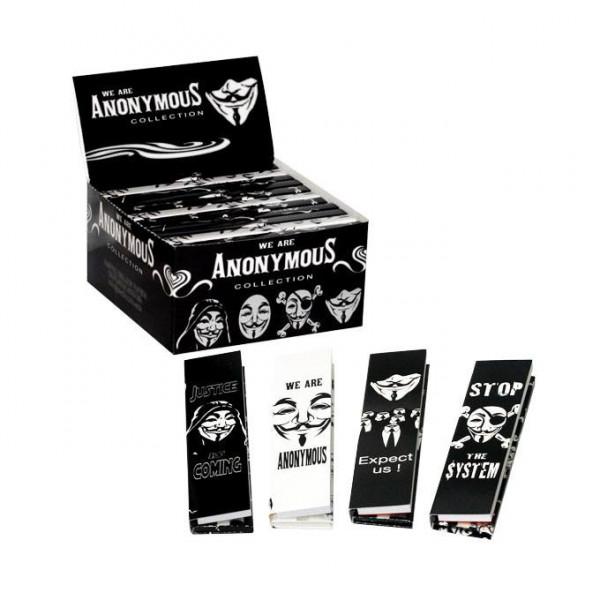 ANONYMOUS - cigaretové papírky a filtry