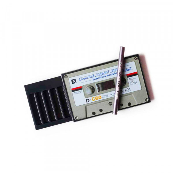 Royal Box Plastic Cassette Black