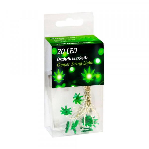 LED světýlka - List marihuany - 20 světýlek