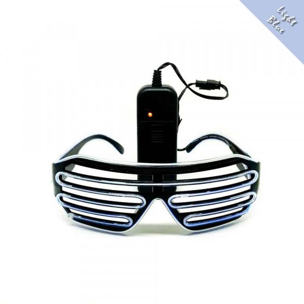FestX - Svíticí brýle na párty - Modrá