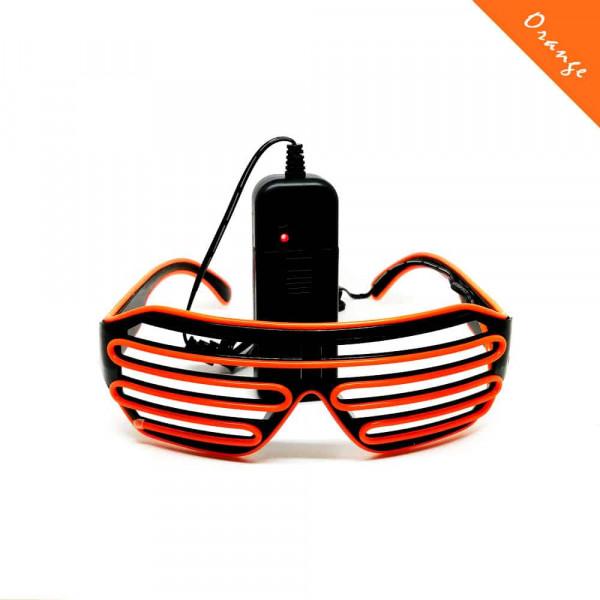 FestX - Svíticí brýle na párty - Oranžová