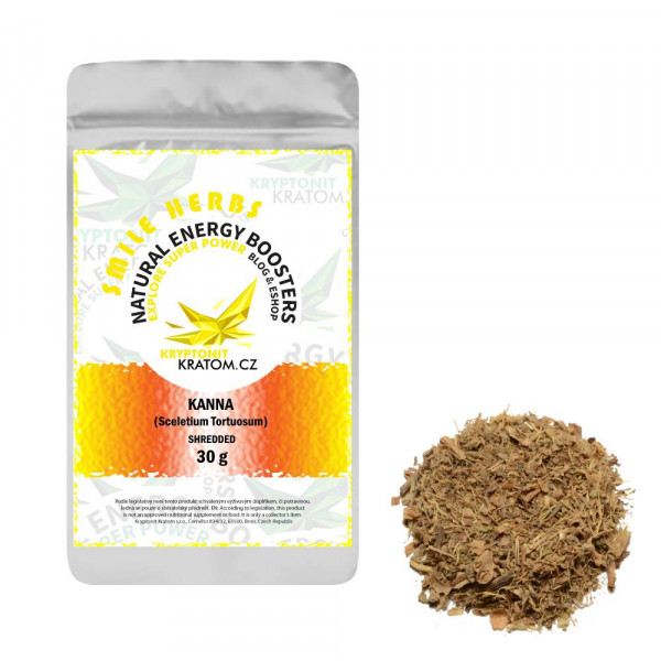 Kanna (Sceletium Tortuosum) - drcená bylina - 30 g