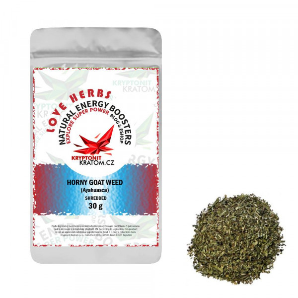 Horny goat weed (Epimedium sagittatum) - drcená bylina