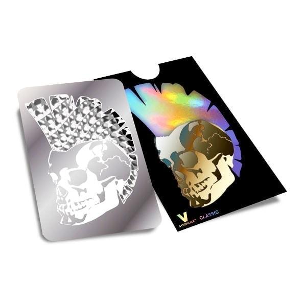 Drtící / Katrovací karta - Mohawk Skull